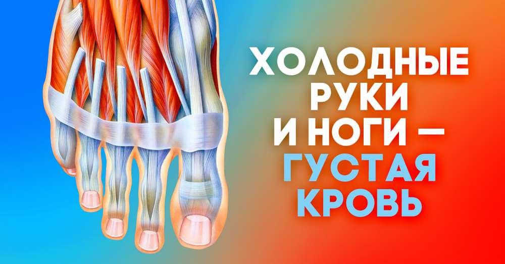 горячее тело холодные руки и ноги