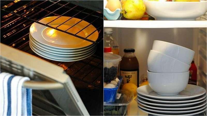 Картинки по запросу warm plates in oven